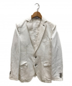 ETONNE(エトネ)の古着「テーラードジャケット」|ホワイト