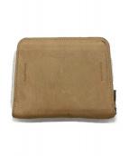 Hender Scheme(エンダースキマー)の古着「square zip purse」 ベージュ