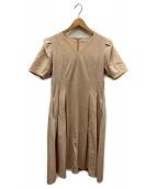 CELFORD(セルフォード)の古着「ブラウスワンピース」|ピンク