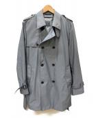 ck Calvin Klein(シーケーカルバンクライン)の古着「ライナー付トレンチコート」|グレー