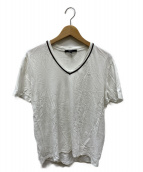 GUCCI(グッチ)の古着「VネックTシャツ」 ホワイト