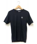 adidas(アディダス)の古着「コラボプリントTシャツ」|ブラック