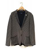 LARDINI(ラルディーニ)の古着「ニットジャケット」|ブラック