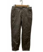 ()の古着「コーティングジョガーパンツ」|グリーン