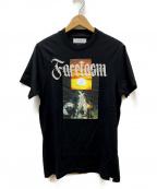 FACETASM(ファセッタズム)の古着「プリントTシャツ」 ブラック