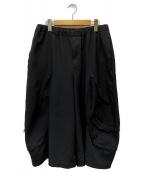 BLACK COMME des GARCONS(ブラックコムデギャルソン)の古着「ハカマパンツ」|ブラック