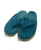 ISLAND SLIPPER(アイランドスリッパ)の古着「スエード トング サンダル」|ブルー