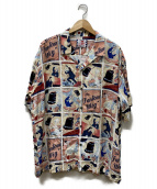SON OF THE CHEESE(サノバチーズ)の古着「Fantom Wig Shirt」|ピンク
