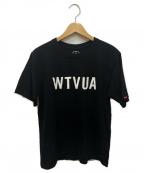 WTAPS()の古着「WTVUA TEE」|ブラック