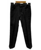 Wrangler(ラングラー)の古着「ランチャー ドレスジーンズ」|ブラック
