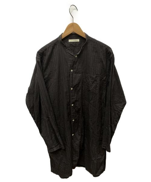 OLD JOE & Co.(オールドジョーアンドコー)OLD JOE & Co. (オールドジョーアンドコー) LONG TAIL NIGHT SHIRTS ブラウン サイズ:SIZE 151/2の古着・服飾アイテム
