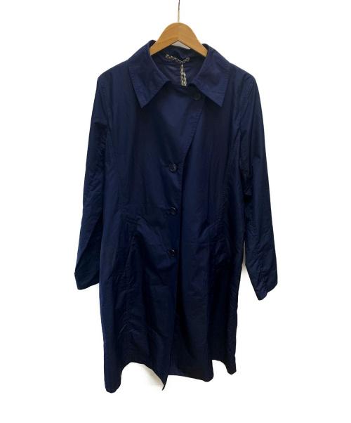 Aquascutum(アクアスキュータム)Aquascutum (アクアスキュータム) パッカブルトレンチコート ネイビー サイズ:表記なしの古着・服飾アイテム