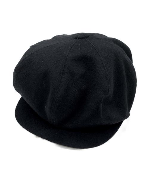 KIJIMA TAKAYUKI(キジマタカユキ)KIJIMA TAKAYUKI (キジマタカユキ) カシミヤウール マリンキャップ ブラック サイズ:SIZE 3の古着・服飾アイテム