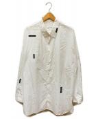 LAD MUSICIAN(ラッドミュージシャン)の古着「BROAD CLOTH PLANE BIG SHIRTS」 ホワイト