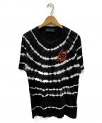 DIESEL Black Gold(ディーゼル ブラック ゴールド)の古着「タイダイTシャツ」|ブラック