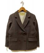 nest Robe(ネストローブ)の古着「ダブルブレストジャケット」 グレー