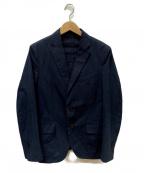 Casely-Hayford(ケイスリーヘイフォード)の古着「シアサッカージャケット」|ネイビー