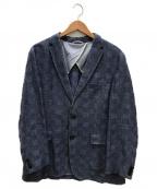 HUGO BOSS(ヒューゴ ボス)の古着「テーラードジャケット」|ブルー