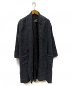 pas de calais(パドカレ)の古着「ロングコート」|グレー