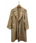 UNITED ARROWS(ユナイテッドアローズ)の古着「タイプライタートレンチコート」|ベージュ