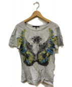 GUCCI(グッチ)の古着「イーグルプリントTシャツ」|グレー