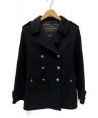 LOUIS VUITTON(ルイヴィトン)の古着「裏LVPコート」|ブラック