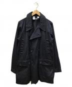 .efiLevol(エフィレボル)の古着「トレンチコート」|ネイビー
