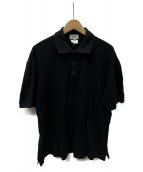 HERMES(エルメス)の古着「ポロシャツ」|ブラック