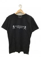 Mastermind JAPAN(マスターマインド ジャパン)の古着「プリントカットソー」|ブラック