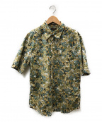 PAUL SMITH()の古着「総柄シャツ」 グリーン