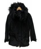 NEIL BARRETT(ニールバレット)の古着「ライナー付コート」|ブラック