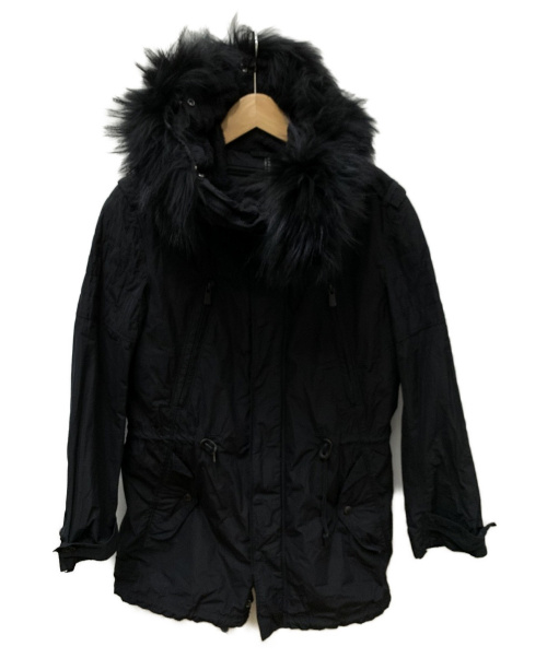 NEIL BARRETT(ニールバレット)NEIL BARRETT (ニールバレット) ライナー付コート ブラック サイズ:SIZE 1の古着・服飾アイテム