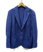 L.B.M.1911(エルビーエム1911)の古着「カシミヤ混テーラードジャケット」 ブルー