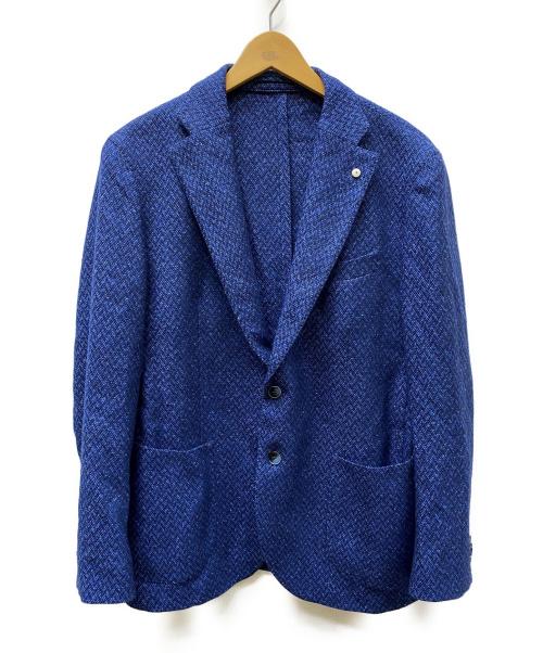 L.B.M.1911(エルビーエム1911)L.B.M.1911 (エルビーエム1911) カシミヤ混テーラードジャケット ブルー サイズ:下記参照の古着・服飾アイテム