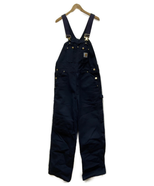 CarHartt(カーハート)CarHartt (カーハート) ダックオーバーオール ネイビー サイズ:34(下記参照)の古着・服飾アイテム