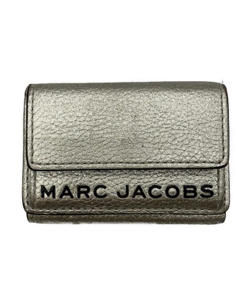MARC JACOBS(マークジェイコブス)MARC JACOBS (マークジェイコブス) カードケース ゴールドの古着・服飾アイテム