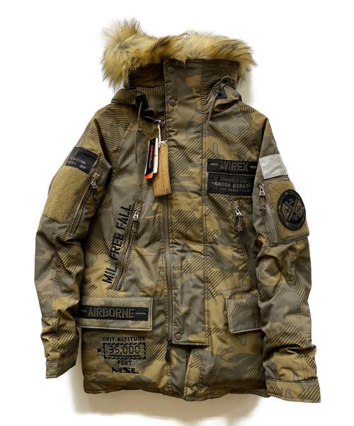 AVIREX(アヴィレックス)AVIREX (アヴィレックス) MOD HALO N-3B グリーン サイズ:Mの古着・服飾アイテム