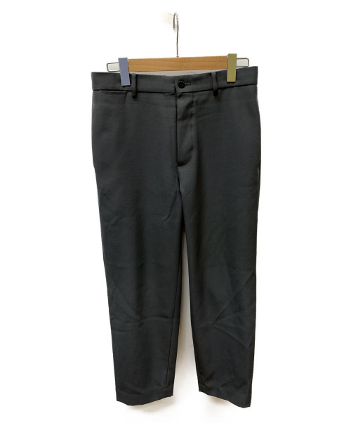 ATON(エイトン)ATON (エイトン) BASIC PANTS BACK SATIN グレー サイズ:SIZE 02の古着・服飾アイテム