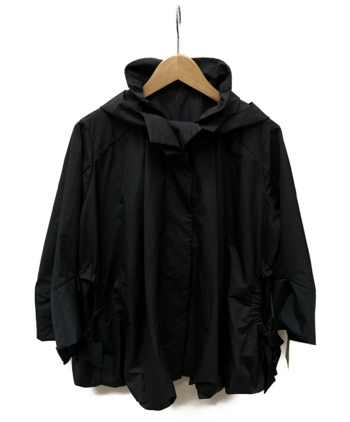 BEARDSLEY(ビアズリー)BEARDSLEY (ビアズリー) バルーンブルゾン ブラック サイズ:SIZE Fの古着・服飾アイテム