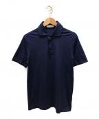 Cruciani(クルチアーニ)の古着「ポロシャツ」|ネイビー