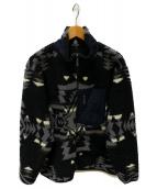 PENDLETON(ペンドルトン)の古着「ビッグパイルジャケット」 ブラック