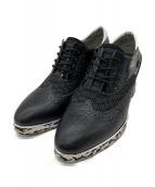 UNITED NUDE(ユナイテッドヌード)の古着「ウィングチップブーツ」|ブラック