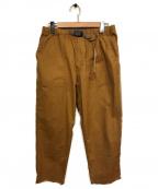 GRAMICCI()の古着「クライミングパンツ」|キャメル