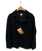 POST OALLS(ポストオーバーオールズ)の古着「wool blackwatch」 ネイビー