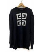 GIVENCHY(ジバンシィ)の古着「モックネックセーター」|ブラック