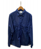 THE NORTH FACE(ザノースフェイス)の古着「L/S Dungaree Shirt」|インディゴ