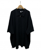Random Identities(ランダムアイデンティティーズ)の古着「ポロシャツ」|ブラック