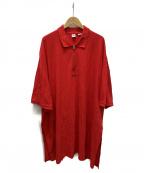 Random Identities(ランダムアイデンティティーズ)の古着「ポロシャツ」|レッド