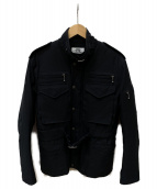 eYe COMME des GARCONS JUNYAWATANABE MAN(アイコムデギャルソンジュンヤワタナベマン)の古着「パデットジャケット」|ブラック