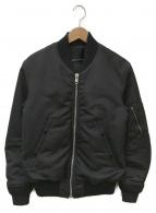LAD MUSICIAN(ラッドミュージシャン)の古着「MA-1ジャケット」|ブラック